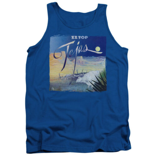 ZZ Top Rock Band TEJAS Licensed Adult Tank Top All Sizes