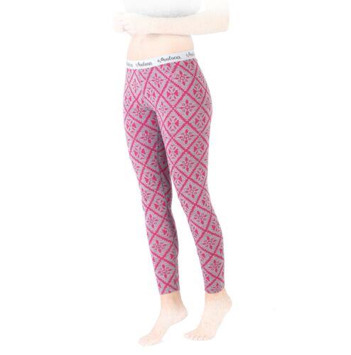 NEU Woolona Funktionshose Damen Lange Unterhose Laufhose 100/% Merinowolle