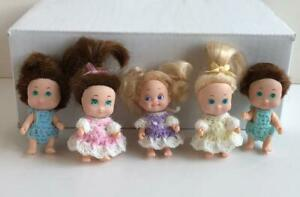 Tiny-Clothes-for-2-1-2-034-Tyco-Quints-dolls-Set-of-5-Girl-Boy-USA-made-Lot-Q-21