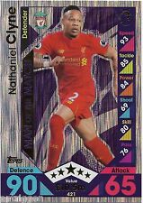2016 / 2017 EPL Match Attax Man of the Match (421) Nathaniel CLYNE Liverpool