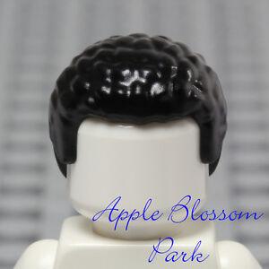 NEW-Lego-Minifig-BLACK-HAIR-Boy-Girl-Short-Curly-Afro-Pixie-SW-Finn-Head-Gear