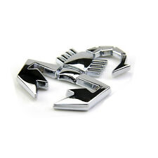 Silver Chrome 3D Scorpion Car Sticker Badge Emblem Decal UK SELLER