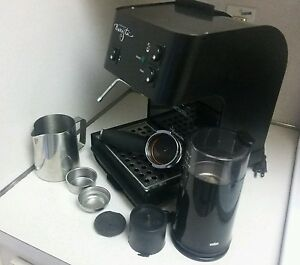 starbucks barista saeco espresso machine