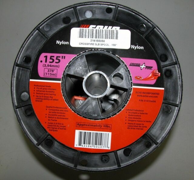 ECHO  155 CROSSFIRE STRING TRIMMER LINE 3 POUND SPOOL 378' PART # 314155056  NEW
