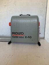 Ridgid Kollmann K 60 115 Volt Amps 57 475 Rpm Drain Cleaner Machine