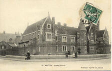 NANTES 19 musée dobrée éd dugas timbrée 1912
