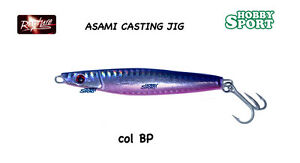 METAL-JIG-ASAMI-CASTING-CM-9-5-GR-60-gr-col-BP-BLU-PURPLE
