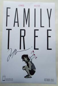 ECCC-2017-FAMILY-TREE-Poster-SIGNED-by-JEFF-LEMIRE