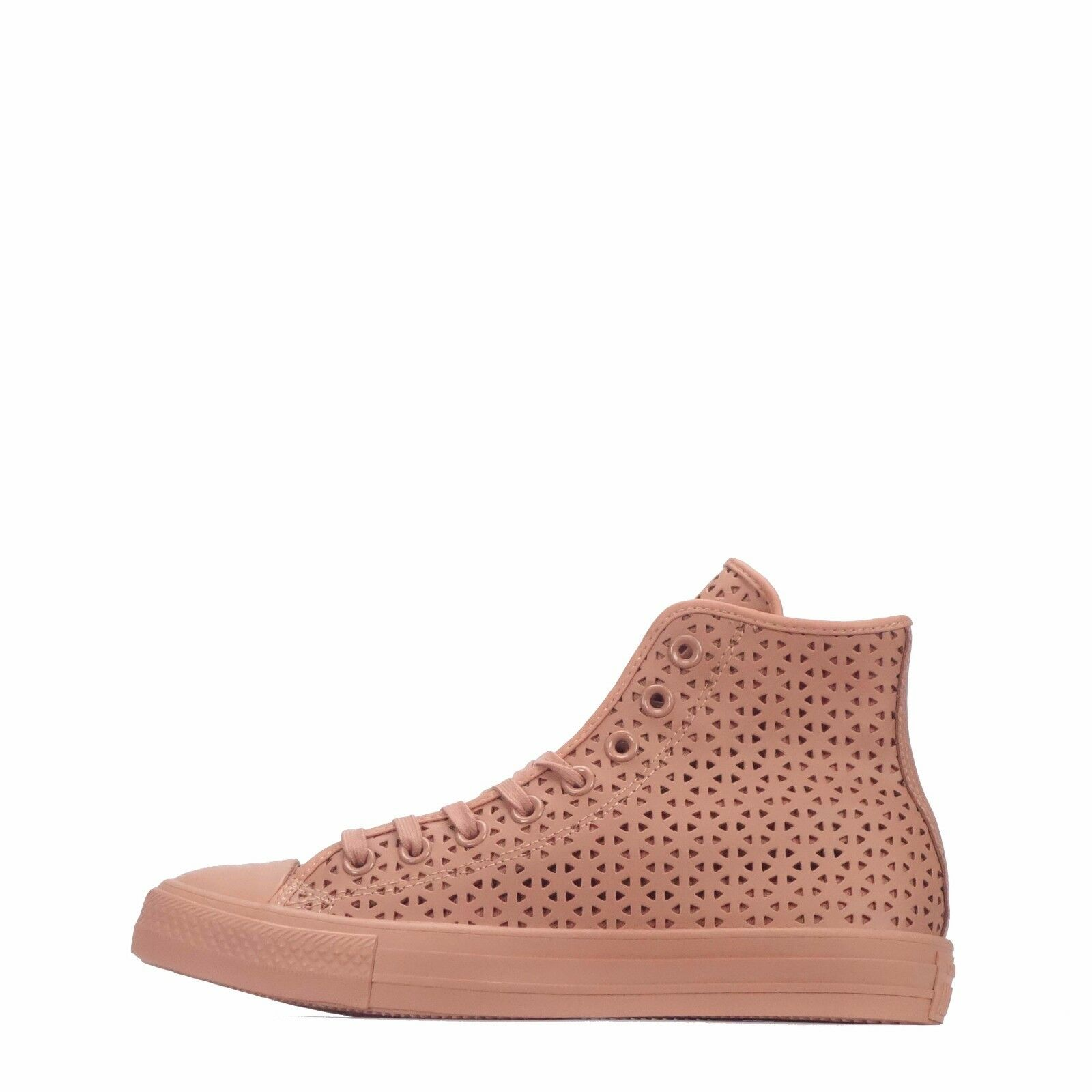Converse Chuck Taylor All Star Hi Perforated Women's shoes Pink bluesh