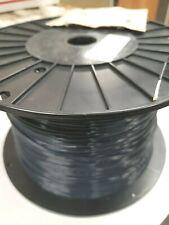 Teflon 18awg Tfe 18ga Black Strand Wire Silv Plated Per 20ft Section Freeship
