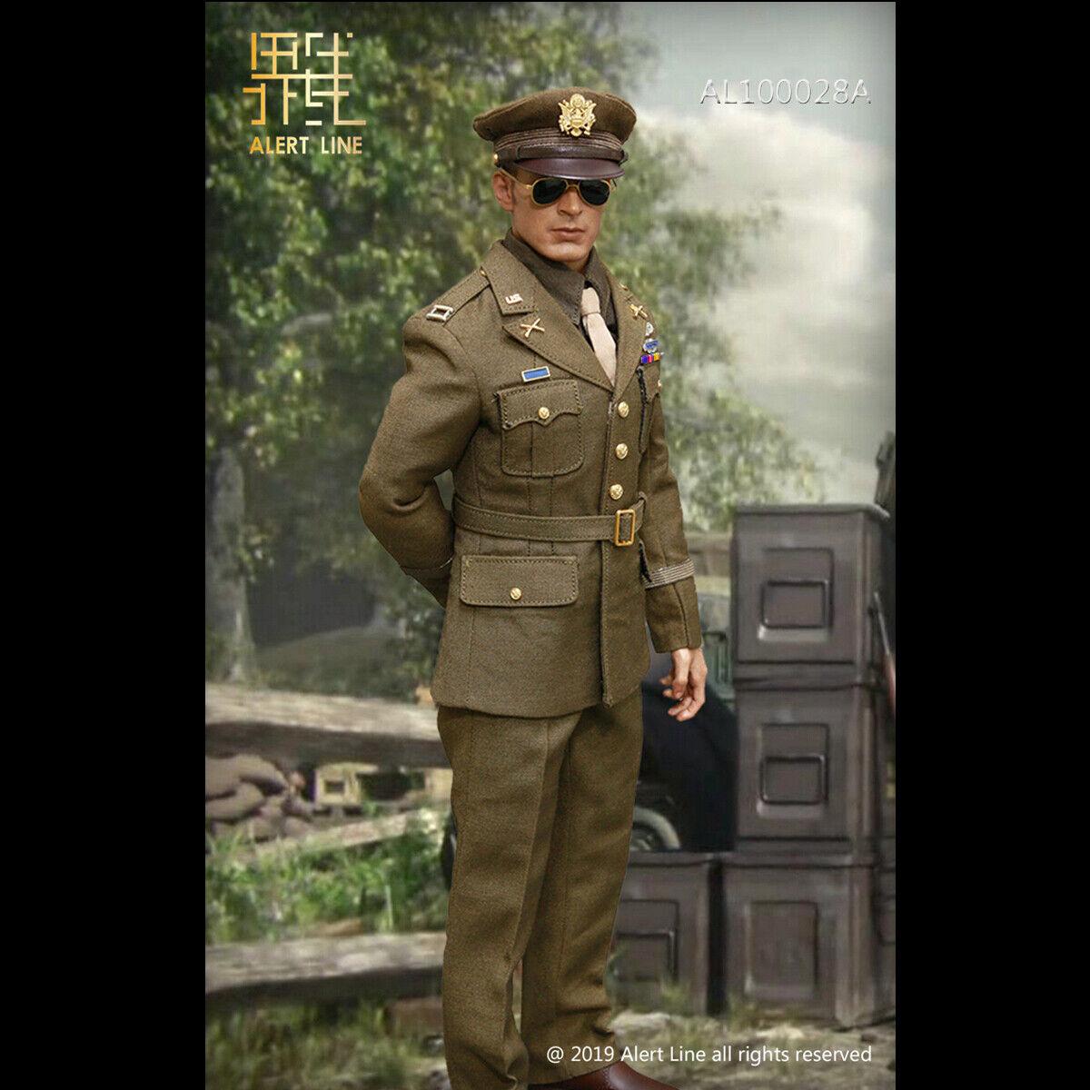 Lert Line  AL100028 1 6 WWII U.S.Army Officer Uniform Suit A  For 12 Action Fig