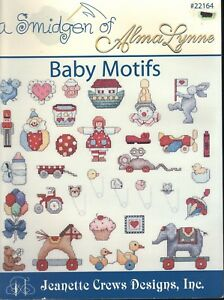 Cross Stitch Patterns A Smidgen Of Baby Motifs 14 Patterns Projects Crafts By Jeanette Crews Designs