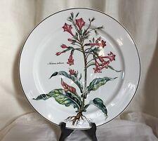 "Villeroy & Boch ""Botanica Nicotiana"" large dinner/chop plate.12 1/2"" d."