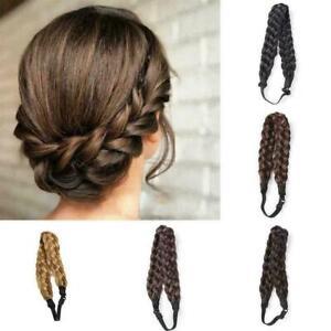Boho-Easy-Wear-Hairbands-Elastic-Twist-Braided-Hair-Headband-Wig-Fishtail-Womens
