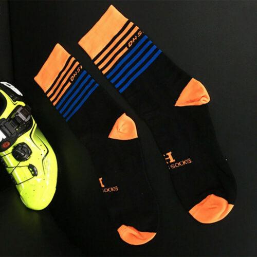 Men Women Outdoor Sports Racing Cycling Socks Breathable Bike Socks 67UK