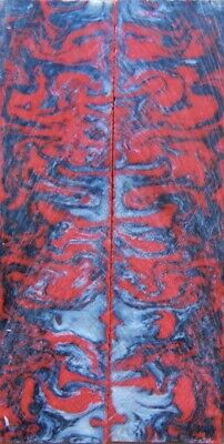 """1 1//2/"""" x 1 1//2/"""" x 6/"""" Game Call Red Damascus Acrylester #122"""