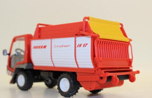 Siku 3061 lindner unitrac con coches de carga 1:32 nuevo embalaje original