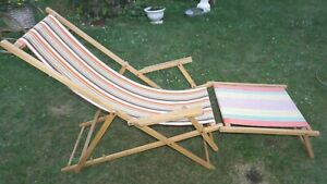 Klappstuhl Ddr.Details Zu Liegestuhl Ddr Gartenstuhl Klappstuhl Fussteil Holz Ostalgie Vintage 60er J