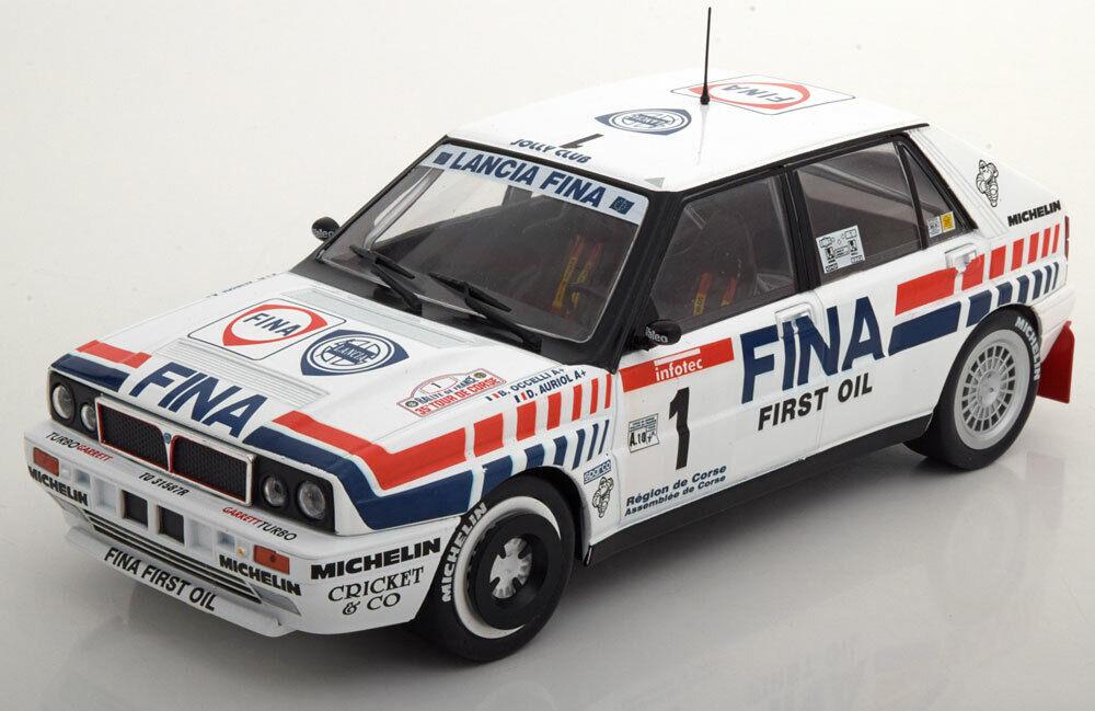 Lancia delta full 16v  1 tour  de corse 1991 solido s1800801 auriol occelli  plus d'escompte