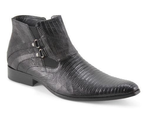 Los Altos Genuine Full Teju Lizard Dress scarpe Slip On Ankle Loafer Handmade D