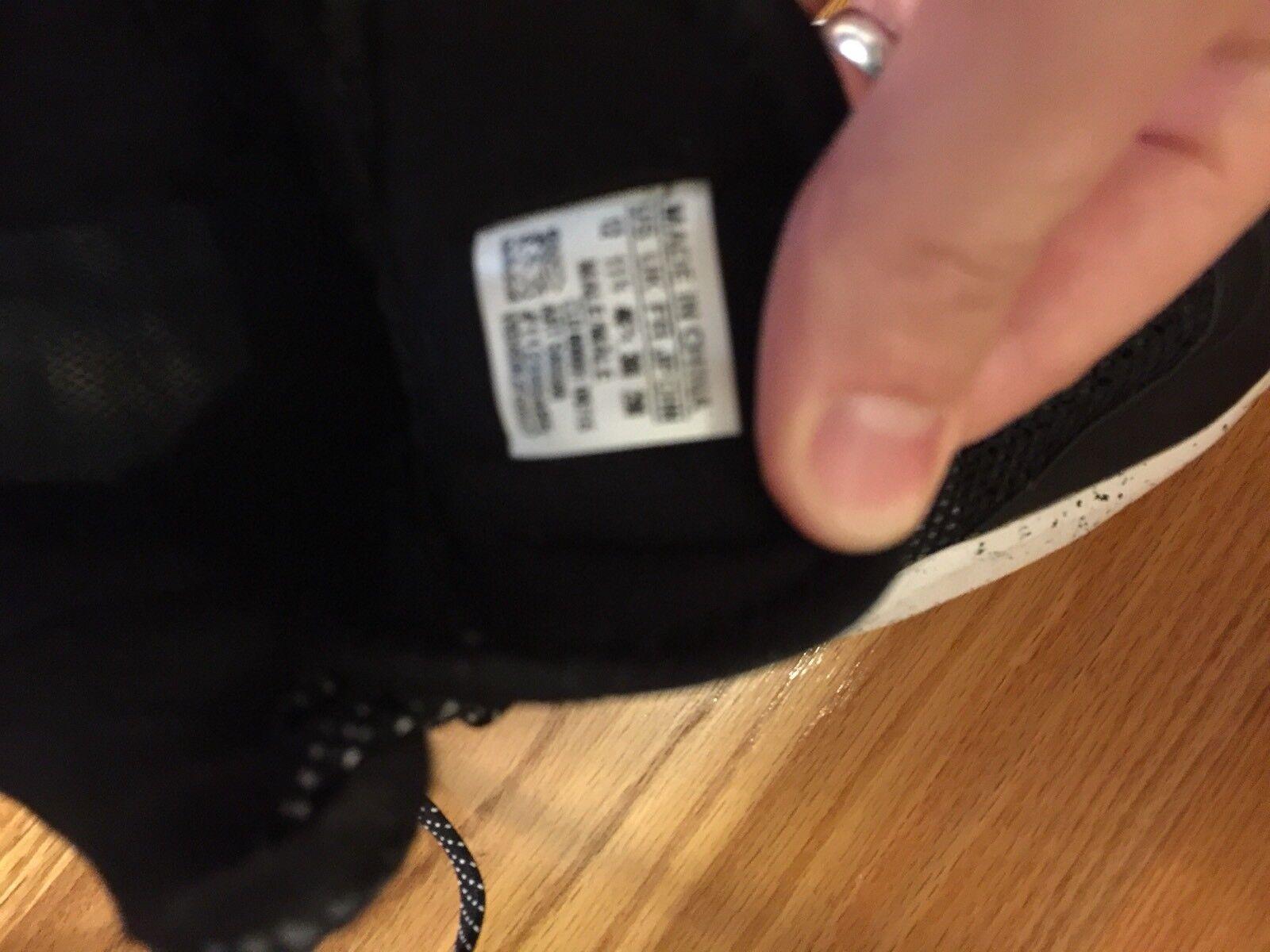 Adidas Men's Sz 12 Black White Adiprene + Mid 112395485 S85586 Crazy Quick 3