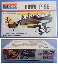 HAWK P-6E - Monogram 1:72 model kit modellismo vintage
