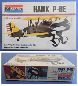 HAWK-P-6E-Monogram-1-72-model-kit-modellismo-vintage