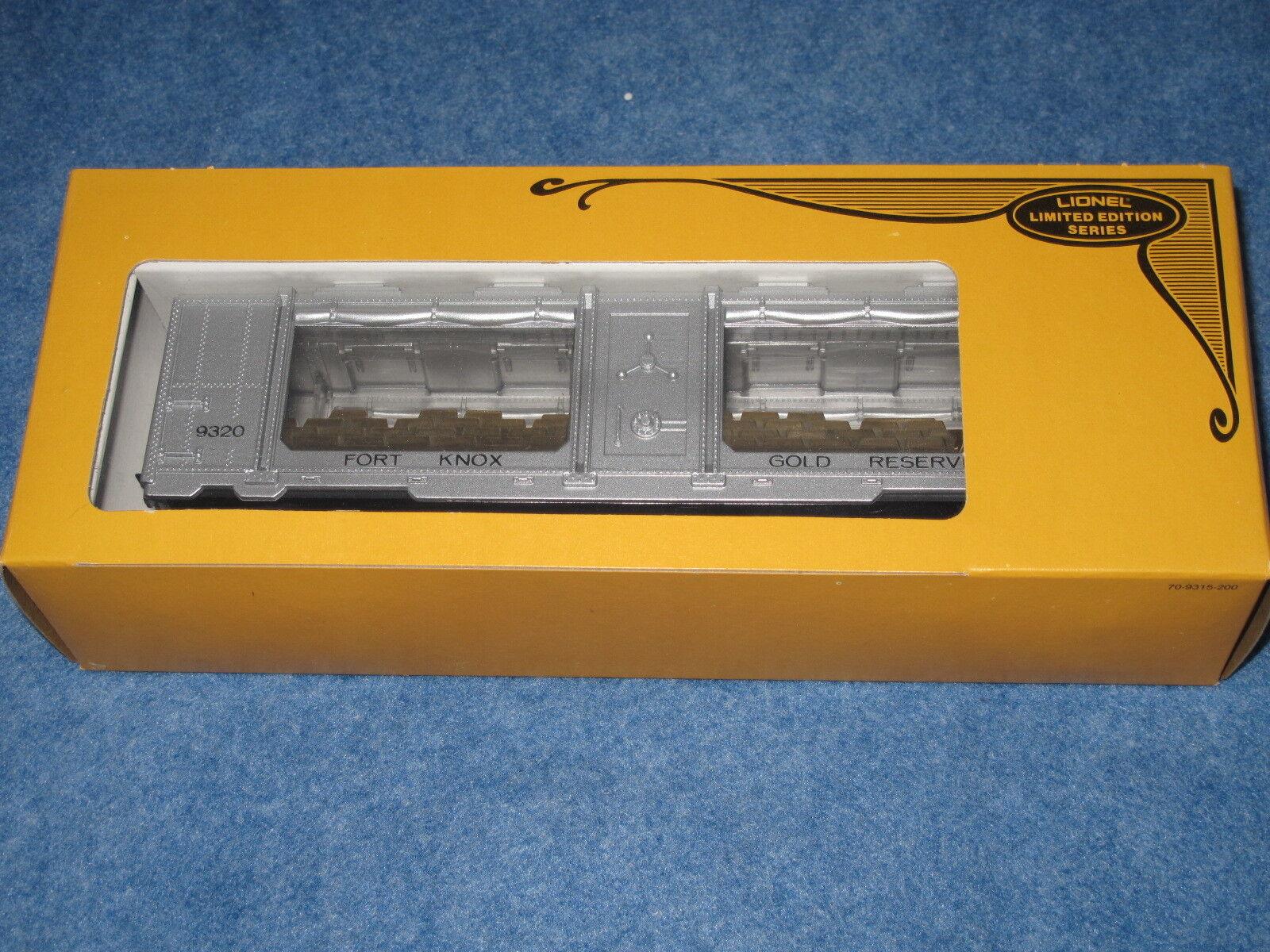 1979 Lionel 6-9320 Fort Knox lingotes de oro COCHE L2501 Nuevo En Caja