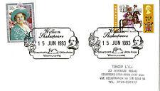 15 JUNE 1993 ROYALTY COVER WILLIAM SHAKESPEARE STRATFORD UPON AVON SHS (s)