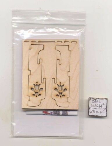 Quilt Wall Rack Maple FS206 dollhouse furniture Dragonfly 1//12 scale wood Kit