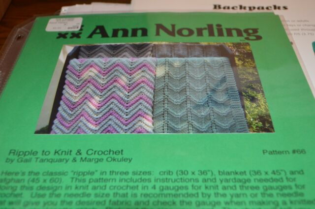 Ripple Afghans Crochet Collection On Ebay