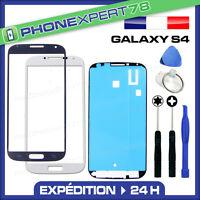 VITRE Samsung GALAXY S4 I9505 ECRAN FACADE GLASS + ADHESIF + OUTILS i9500
