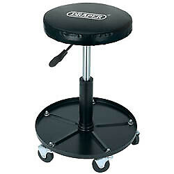 Brilliant Draper 54229 Adjustable Roller Padded Mechanic Work Stool Seat Garage Workshop Ebay Andrewgaddart Wooden Chair Designs For Living Room Andrewgaddartcom
