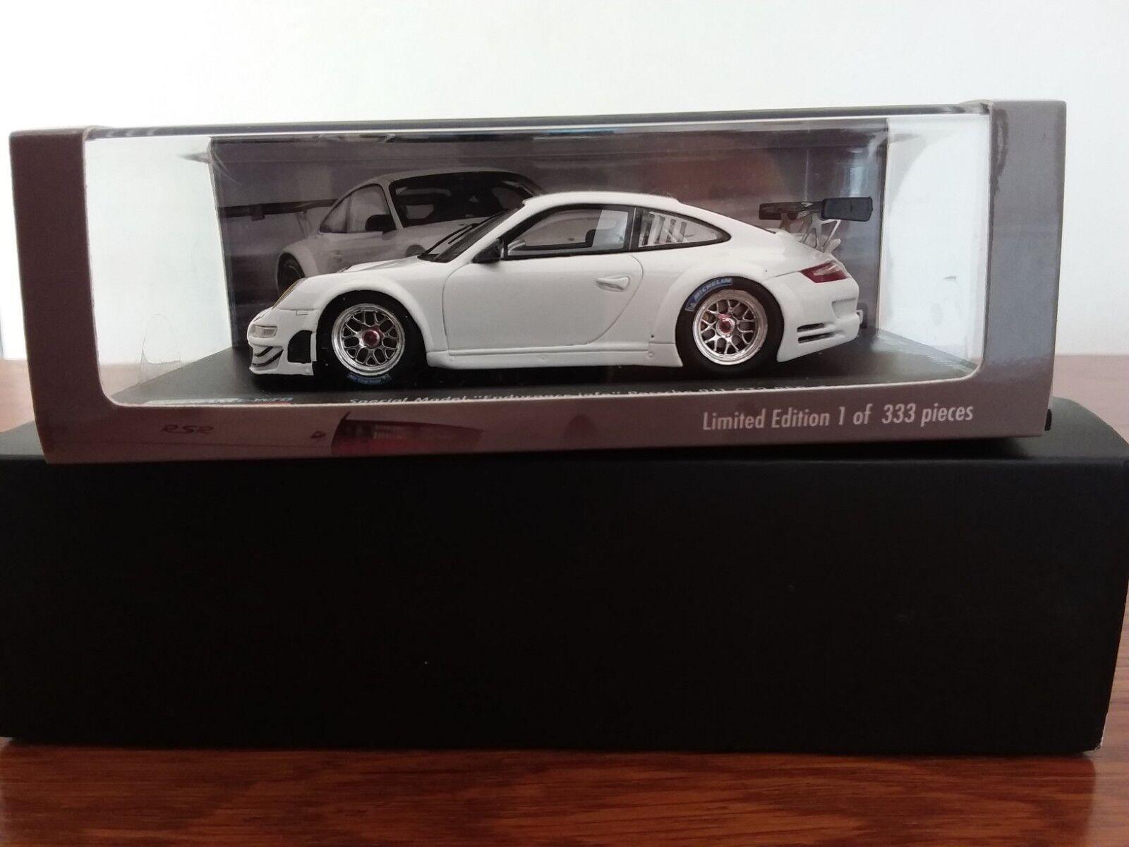 grandes ahorros Rare Porsche 911 GT3 GT3 GT3 RSR type 997 2008 Special Model  Endurance-info  Spark 1 43  Con precio barato para obtener la mejor marca.
