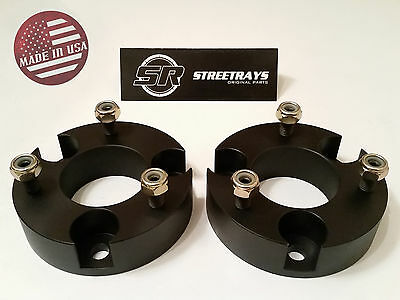 """SR 3/"""" Front Leveling Spacer Lift Kit for 05-18 Nissan Frontier 4WD /& 2WD BLACK"""