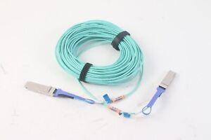 Mellanox MC220731V-040 40M QSFP IB FDR ETH56 GbE VPI + Active Fiber Cable - New