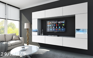 Image Is Loading Contemporary Living Room Furniture FUTURE 29 Wall Unit  Part 91