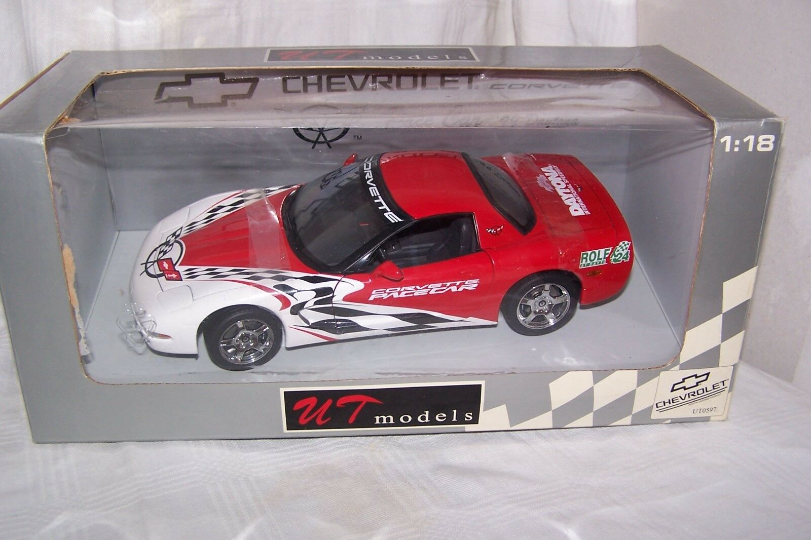 Diecast 1 18 1999 Corvette Daytona Pace Car