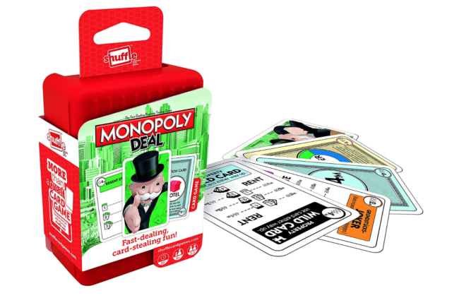 Shuffle Monopoly Deal Card Game Games Fun Family Cards