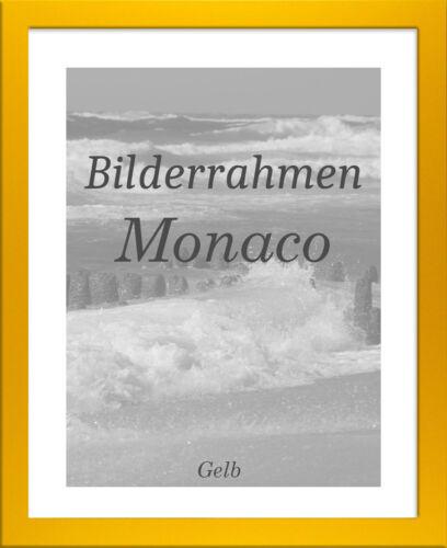 Bilderrahmen Monaco 44x84 cm Foto Poster Puzzle Galerie 84x44 cm