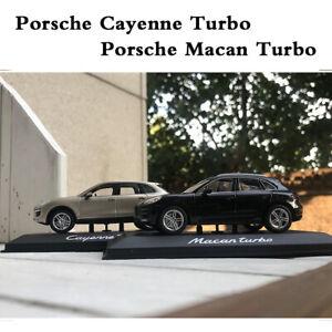 Minichamps-1-43-Porsche-Macan-Turbo-Porsche-Cayenne-Turbo-Diecast-Car-Model-New