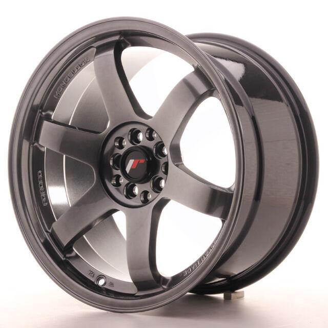 "Un Cerchio in Lega Japan Racing JR3 18/"" x 9.5/"" ET38 5x100//114.3 Nero"