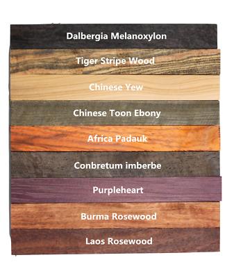 CraftPro Kits Pen Blank Wooden Pen Blanks