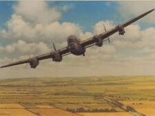 Blank Internal With Envelope BBMF Avro Lancaster Photo Greeting Card