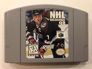 NHL-Breakaway-98-Nintendo-64-Authentic-N64