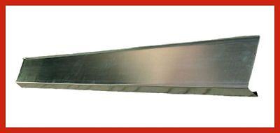 Rinneneinlaufblech Falz 4 meter 250-er 0,7 mm Traufblech Rinneneinhang zink  NEU
