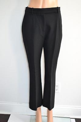 Alexander McQueen Black Wool/Silk Pants, Sz 42