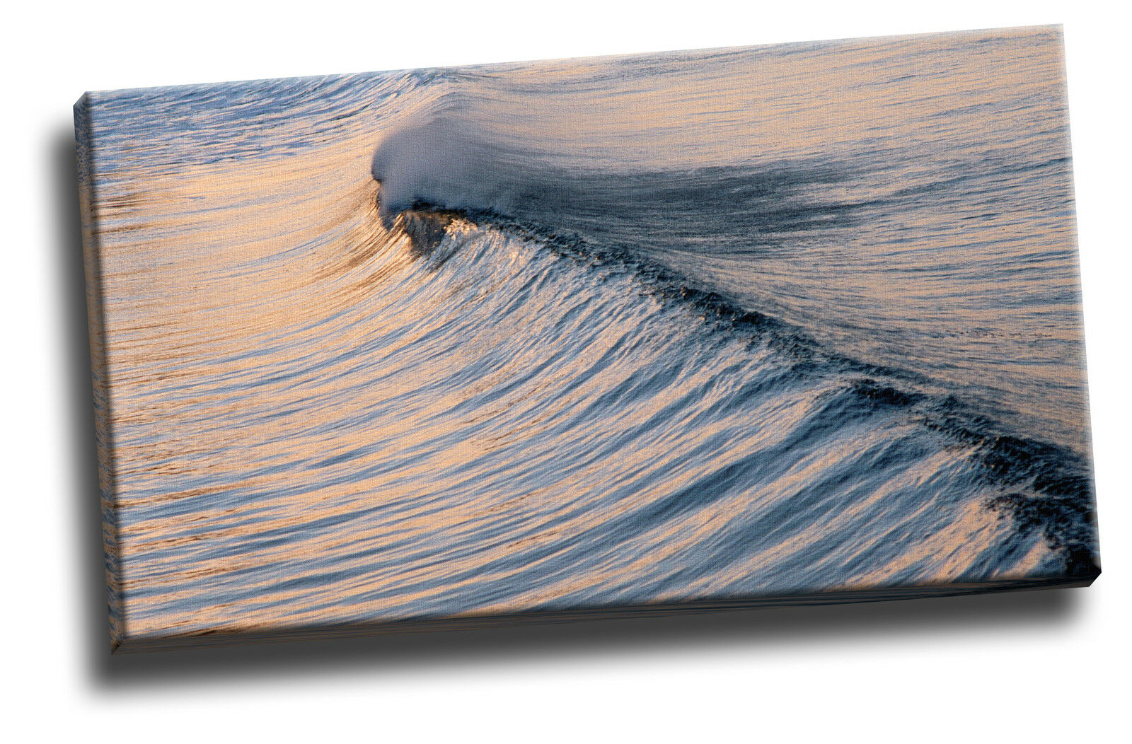 Rolling Rolling Rolling Wave Canvas Picture Poster Art 881020