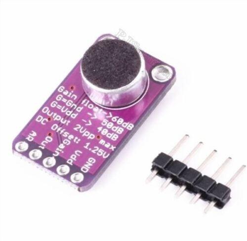 1Pcs MAX9814 Microphone Module Agc Amplifier Board CMA-4544PF Auto Gain Contr ps