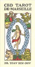 CBD Tarot De Marseilles 78 Color Card Deck Yoav Ben-dov 56p Booklet